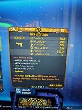 Trick Unforgiven Borderlands 3 Rare Legendary 125% Boss Damage Anointed Xbox 1