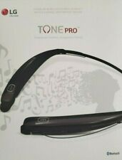 LG HBS-770 Tone Pro Wireless Headphones Neckband Bluetooth Headset New!!