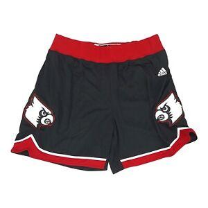 Louisville Cardinals NCAA Adidas Women's Black F16 Basketball Shorts
