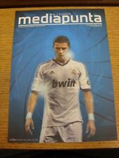 18/09/2012 Real Madrid v Manchester City [Champions League] [Media Punta Issue].
