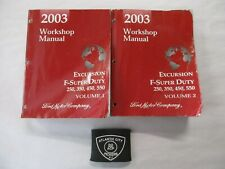 2003 FORD EXCURSION F-SUPER DUTY 250 350 450 550 SERVICE SHOP REPAIR MANUALS