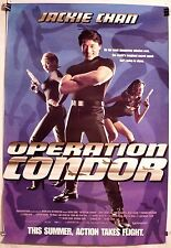 OPERATION CONDOR ORIG 1997 DS ADVANCE 1SHT MOVIE POSTER ROLLED JACKIE CHAN NM