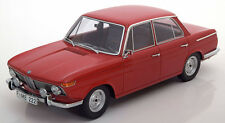 Minichamps 1965 BMW 1800 TI Red Color in 1/18 Scale. New Release!