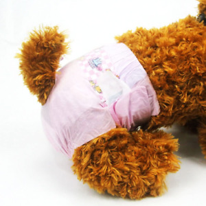 Dono Disposable Dog Diapers Female Doggie Diapers for Puppy Dogs and Cats in XXS