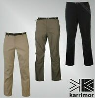 Mens Karrimor Adjustable Belt Outdoor Panther Trousers Sizes from S to XXL
