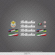 0671 Bottecchia Professional Bicycle Stickers - Decals - Transfers - White Text