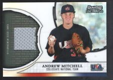 ANDREW MITCHELL 2011 BOWMAN STERLING REFRACTOR USARAM GAME JERSEY NATIONAL SP