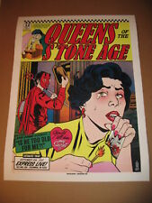 QUEENS OF THE STONE AGE POSTER BY BRIAN EWING S/N LIMITED ARTIST EDITION  18x24