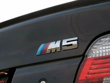Genuine BMW M5 Rear Trunk Emblem Badge E39 M5 - Chrome