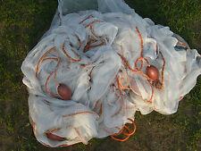 Sandeel seine/drag net 70 ft x6 ft WITH POCKET fishing bait, free postage