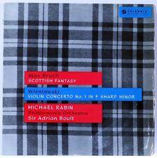 MICHAEL RABIN violin BRUCH / WIENIAWSKI- LP Original UK 33CX 1538