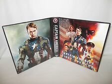 Custom Made Captain America Trading Card Binder Graphics Only