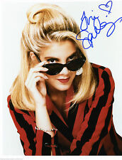 TORI SPELLING ACTRESS SIGNED 8X10 STAR OF 90210 AS DONNA MARTIN WIH COA