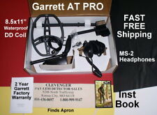 Garrett At Pro Refurb Metal Detector with Ms-2 Headphones * Fast Free Shipping
