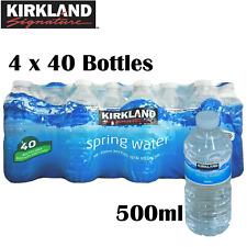 Kirkland Natural Spring Drinking Water Still Bottled 500ml X 40 Bottles