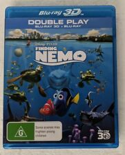 FINDING NEMO 3D Blu-ray + 2D Blu-ray 2-DISC RB oz seller Disney Pixar