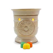 SALE ITEM - Electric wax melt warmer (burner) SUNFLOWER + light & autumn tarts