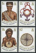 Solomon Islands 657-660,MI 722-725,MNH.Personal Ornaments:Necklase,Islander,1990