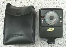 Canon Speedlight 177A Camera Flash with Diffuser Insert & Canon Case -TESTED
