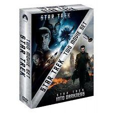 Star Trek / Star Trek Into Darkness (DVD, 2013, 2-Disc Set, Box Set)