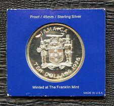 1975 Jamaica 10 Dollar Coin 'Sir Henry Morgan' (42.8 Grams .925 Silver)