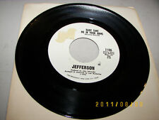 Jefferson Baby Take Me In Your Arms / I Fell Flat On My Face 45 NM J-106