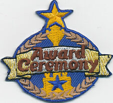 Girl/Boy AWARD CEREMONY Patches GUIDE/SCOUTS/HOMESCHOOL