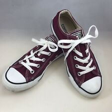 Converse Chuck Taylor All Star Low Top Style 139794F Burgundy Sneakers Size 4/6