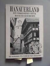 2 Bücher Hanauerland vergessenes Stück Hanauer Geschichte Wörterbuch alemannisch