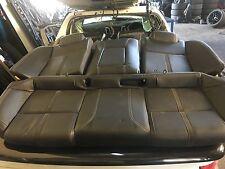 2017 VF SSV Redline Holden Commodore sedan Black leather rear seat. SS SV6 HSV