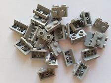 Lego Medium Stone Grey Bracket 1x2-1x2, Part 99781, Element 4654582, Qty:25 -New