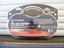 Attwood Mercury Fuel Line Kit w/ Demand Valve (w/ Fittings) – 6'