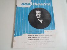 NEW THEATRE Vintage Magazine May 1947 Peter Ustinov, Gordon Sandison +
