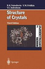 Modern Crystallography 2 : Structure of Crystals by Vladimir L. Indenbom,...