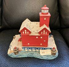 Harbour Lights Big Red Holland Michigan Mi #142 1994 lighthouse