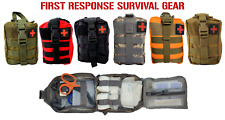 Tactical MOLLE First Aid Survival  Premium Trauma Kit IFAK stop the bleed
