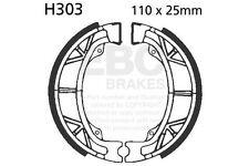 Ajuste Baotian BT 49 QT-9 (50-4T) rápido 10 > 11 EBC Liso Zapato Trasero Izquierdo