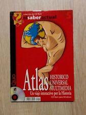 CD ROM ATLAS HISTORICO UNIVERSAL MULTIMEDIA PARA WINDOWS PC