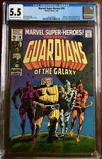 Marvel Super-Heroes #18 CGC 5.5 (F-) OW/W, 1st Guardians, Nice Slab