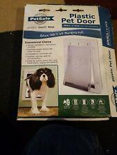 PetSafe Plastic Pet Door - Small (1-15 Lb) - 5 1/8 x 8 1/4 Flap Opening