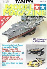 Tamiya Model #1 1985 USS Enterprise Le Mans Porsche 956 Zero Trainer M48A2C Tank