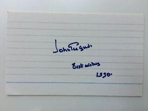 John Gielgud - Arthur - Murder on the Orient Express - Original HS Autograph