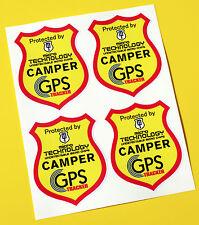 3x GPS Étiquette Aluminium Mouture Moto Anti Vol Étiquette Tracker Gesichert