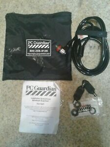 PC Guardian Keyed Security Cable Unused
