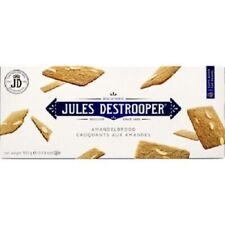 Jules Destrooper Almond Thins Original Belgium Cookies Biscuits 100G