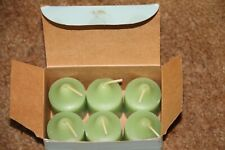 PartyLite Votive Candles New Lime and Cilantro