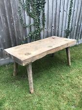 More details for old pig bench