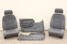 GENUINE GM VS UTE FRONT SEATS & DOOR TRIMS - 15i GREY - VR VP VN VG V8 V6 L67