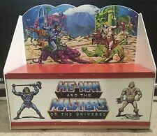 He-Man MOTU Masters of the Universe Toy Chest Cabinet Mattel 1980?s - VERY RARE!