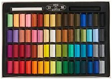 Mungyo Non Toxic Square Chalk, Soft Pastel, 64 Pack, Assorted Colors (B441R078-7